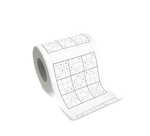 Bunkerbound Novelty Sudoku Toilet Roll