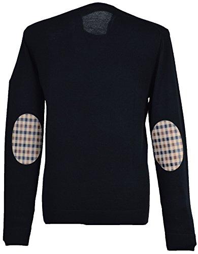 aquascutum-jersei-para-hombre-azul-azul-marino-x-large