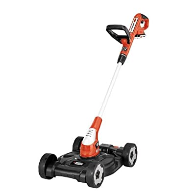 Black & Decker MTC220 12-Inch Lithium Cordless 3-in-1 Trimmer/Edger and Mower, 20-volt (Battery-Powered)