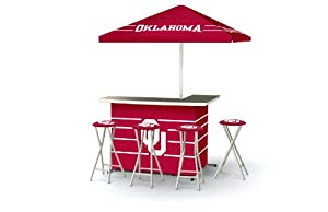 Best of Times Patio Bar and Tailgating Center Deluxe Package- University of Oklahoma by Best of Times, LLC