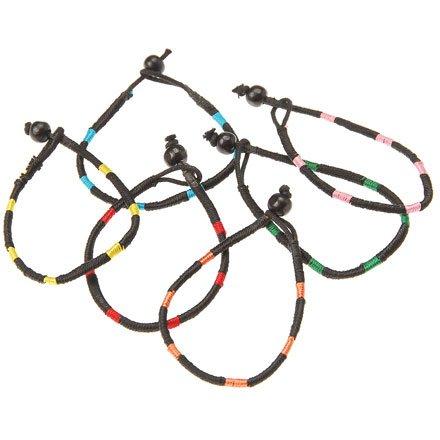 Black Fabric Bracelets