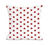 Bentin Home Decor All over Stars Throw Pillow by OBC, 18