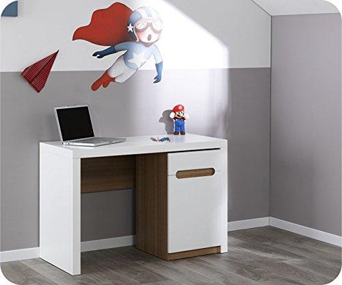 Schreibtisch Bow weiß