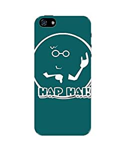 PosterGuy iPhone 5 / 5S Case Cover - Had Hai ! Desi Emotion Quirky Illustration Funny Humor Reactions