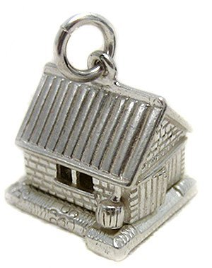 Welded Bliss Sterling 925 Silver Garage Charm, Opens To Car. WBC1098