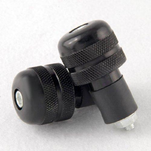 "Black Universal Fit 7/8"" Motorcycle Motocross Motorbike ATV Bicycle Handle Bar End Billet Cap Plug"