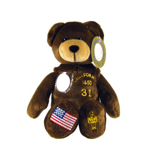 41wa8Hna7hL Cheap Buy  California State Quarter Bear Collectible Stuffed Bear Brown