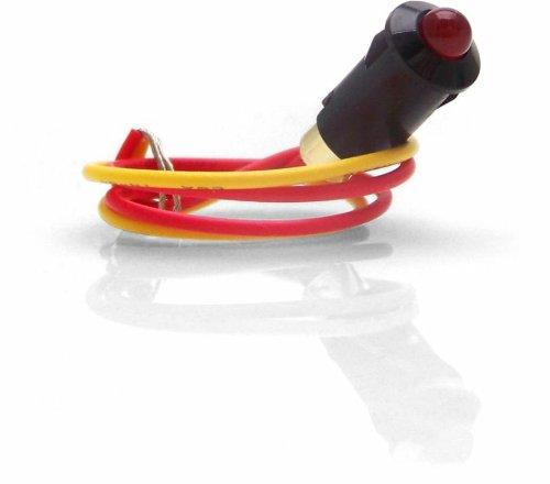 Keep It Clean Swind2Rd Red 5Mm 12V Black Plastic Body Led Indicator Light