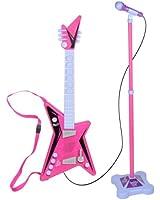 Kidz Toyz Rockin' Girl Guitar and Stage Mic Set