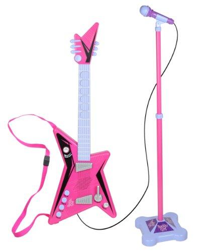 Kidz-Toyz-Rockin-Girl-Guitar-and-Stage-Mic-Set