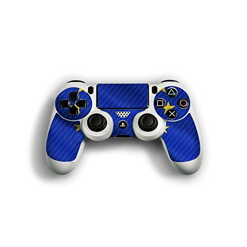 Sony Playstation 4 Controller Design Skin flag of European Union Decal Sticker for Playstation 4 Controller (PS4) by Designfolien@FoliX
