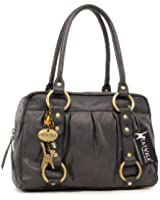 Catwalk Collection Leather Handbag - Megan