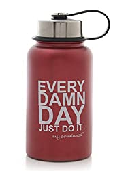 My 60 Minutes Red Gym Shaker Bottle 500ml (MM-S2-P43)