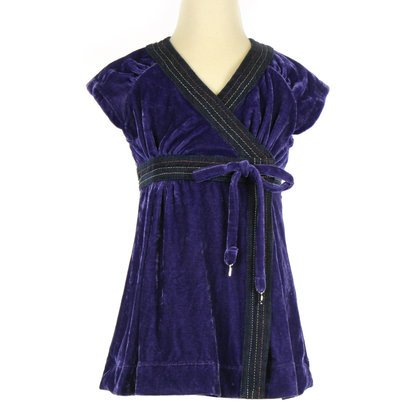 41waEU8p8aL Miss Sixty Purple Velvet Dress