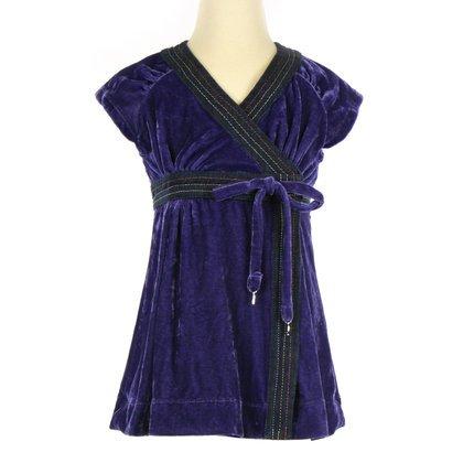 41waEU8p8aL Miss Sixty Purple Velvet Dress