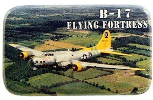B-17 Flying Fortress Metal Magnet