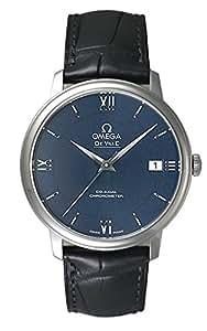(オメガ) OMEGA 腕時計 デ・ビル プレステージ 424.13.40.20.03.001 ブルー メンズ [並行輸入品]