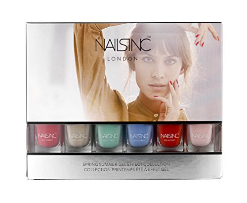 NAILS INC. Smalto da settembre a settembre primavera e l'estate - 6x4,5ml - limitato - 6 colori