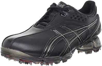 ASICS Men's GEL-Ace Pro Golf Shoe,Black/Silver,7 M US