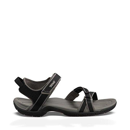 Teva Women's Verra Sandal, Black, 7 M US (Women Outdoor Sandals compare prices)