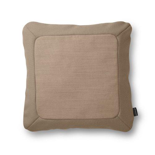 Frame Cushion 50x50, warmgrau von Norman Copenhagen