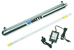 Watts 270150 2-GPM 1/2-Inch 110-Volt UV Disinfection System