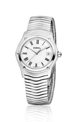 Ebel 1215438 - Reloj para hombres, correa de acero inoxidable