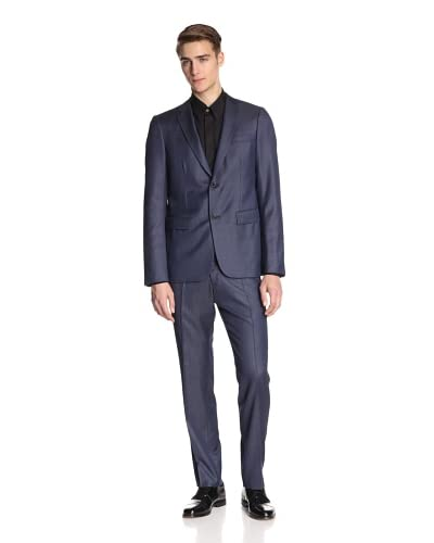 Jil Sander Men's Alexia Alessandro Suit Drop 8 Slim Fit