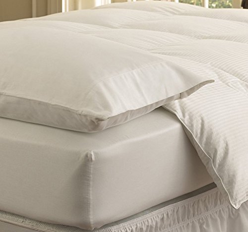 Easy Fit Ruffled Eyelet Bed Skirt, Queen/King, White