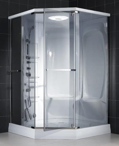 DreamLine SHJC-8151516-01 Neptune Steam Shower, Chrome