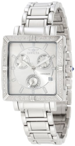 Invicta Women's 5377 Square Angel Diamond Stainless