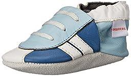 SkidDERS Sneaker LT Slipper (Infant), Blue, 6-12 Months M US Infant