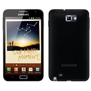 FoneM8 - Samsung Galaxy Note Black Gel Skin Case Cover
