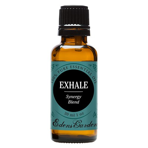 Exhale Synergy Blend Essential Oil by Edens Garden (Comparable to DoTerra's Breathe & Young Living's Raven Blend)- 30 ml