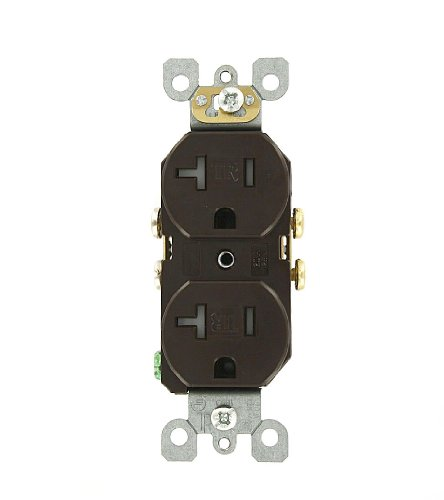 Residential Electric 20 Amp 125 Volt, Duplex Receptacle