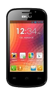 BLU Dash JR W D141w Unlocked GSM Dual-SIM Android Cell Phone - Black
