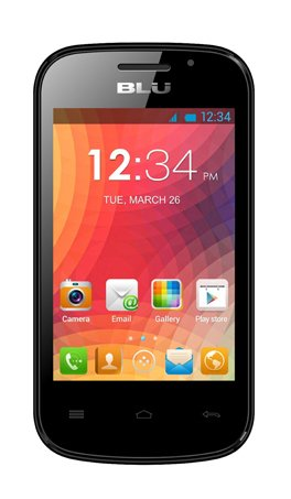 BLU Dash JR W D141w Unlocked GSM Dual-SIM Android Cell Phone