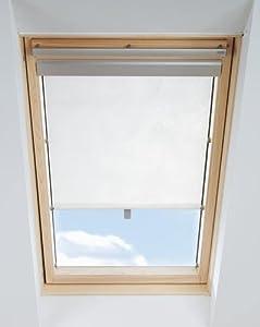 roller blind beige for velux ggl ghl m04 m06 m08 for. Black Bedroom Furniture Sets. Home Design Ideas