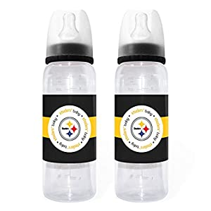 Baby Fanatic Pittsburgh Steelers Baby Bottles - set of 2 by Baby Fanatic 101152