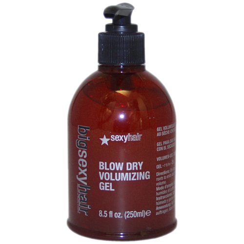 Discount Sexy Hair Big Sexy Blow Dry Volume Gel, 8.5-Ounces Bottle