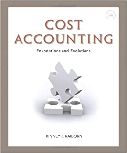 cost accounting text review Cost accounting page 7 2 a cost should be charged only after it has been incurred: while determining the cost of individual units those costs which have actually been incurred should be considered for.
