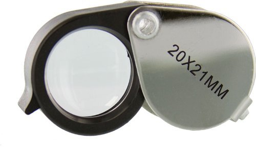 SE - Loupe - Metal Body, 20x, 21mm - MJ382021
