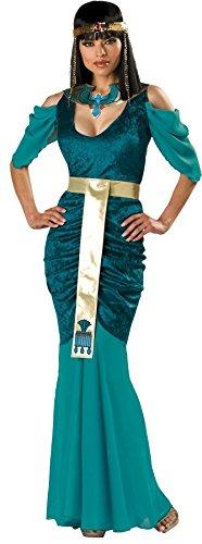 [GTH Women's Fancy Egyptian Jewel Theme Party Dress Halloween Costume, XL (16-18)] (Comical Fancy Dress Costumes)