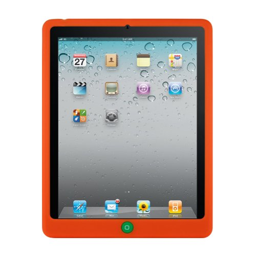 (Orange MiniSuit Apple iPad 2 case skin for iPad 2nd Gen, 2nd generation 16GB, 32GB, 64GB, 3G, Wifi, MiniSuit Cleaner and iPad 2 Screen Protector