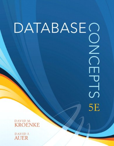 Database Concepts (5th Edition)