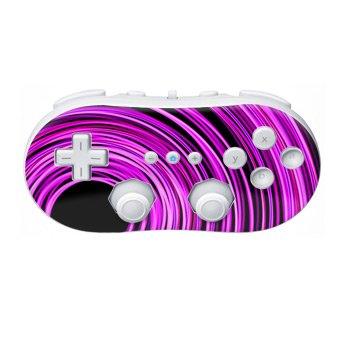 Nintendo Wii Controller Skin- Circulitis Pink