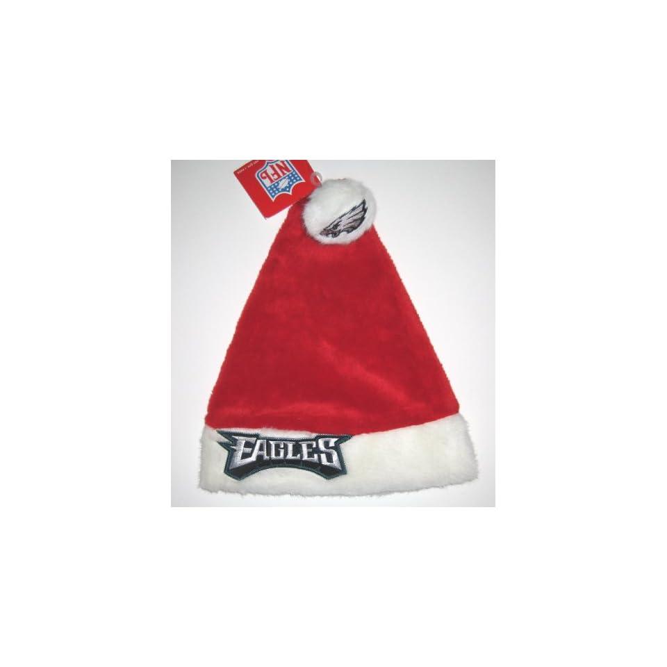 e8236e83825352 ... france philadelphia eagles nfl plush red christmas santa hat 9b955 28ecd
