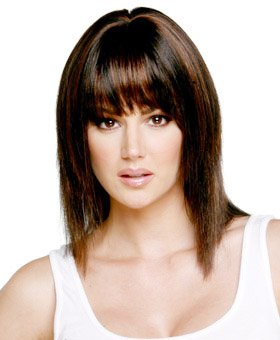 Sensation - Shoulder Length Synthetic Wigs for Women by Hollywood