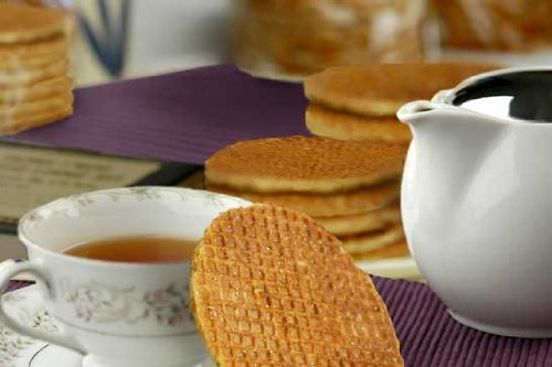 Stroopwafels 40 Dutch Caramel Syrup Waffle Cookies