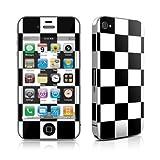 Apple iPhone4/iPhone 4S用スキンシール【Checkers】